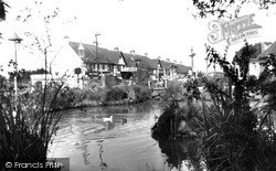Sanderstead, The Pond, Hamsey Green c.1960