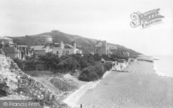 Sandgate, From The Castle 1897