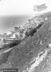 Sandgate, From The East c.1955