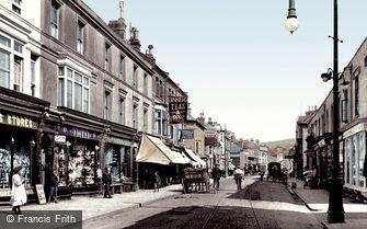 Sandgate, High Street 1906