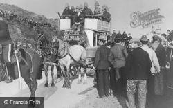 Sandgate, Horse-Drawn Coach Carrying Wounded Soldiers From Ladysmith 1900
