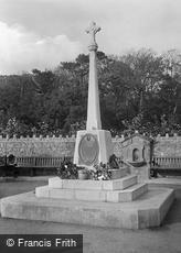Sandgate, the War Memorial 1921