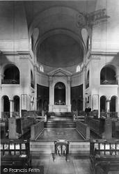 Sandhurst, Christ Church Interior, Royal Military College 1920