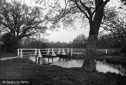 Sandhurst, Footbridge 1939