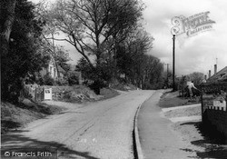 Sandhurst, Harts Leap Road c.1960