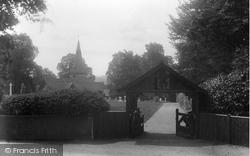 Sandhurst, Lychgate 1914