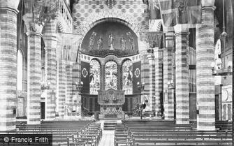 Sandhurst, Military College, Christ Church interior 1906