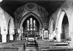 Sandhurst, Parish Church Interior 1909
