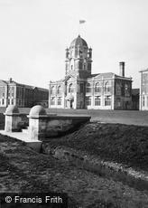 Sandhurst, Royal Military College, the Officers' Mess 1911