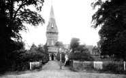 Sandhurst, St Michael's Church 1906