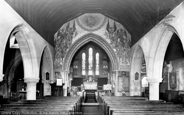 Sandhurst, St Michael's Church, the Interior c1955