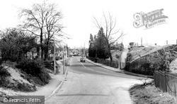 Sandhurst, The Halt And Yorktown Road c.1960