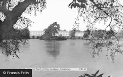 Sandhurst, The Lake And Royal Military Academy c.1960