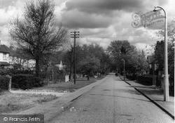 Sandhurst, Wellington Road c.1960