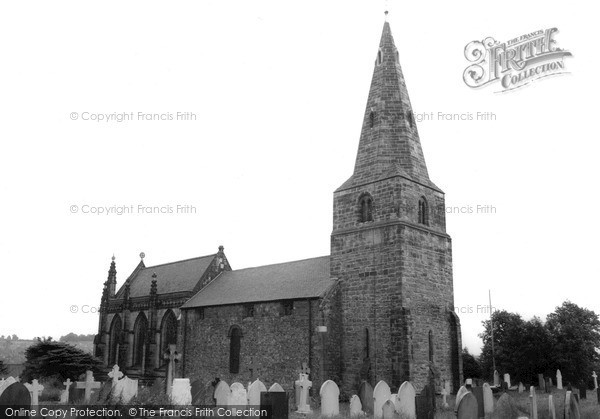 Sandiacre, the Church c1955