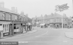 Sandiacre, Derby Road c.1955