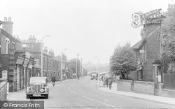 Sandiacre, Station Road c.1955