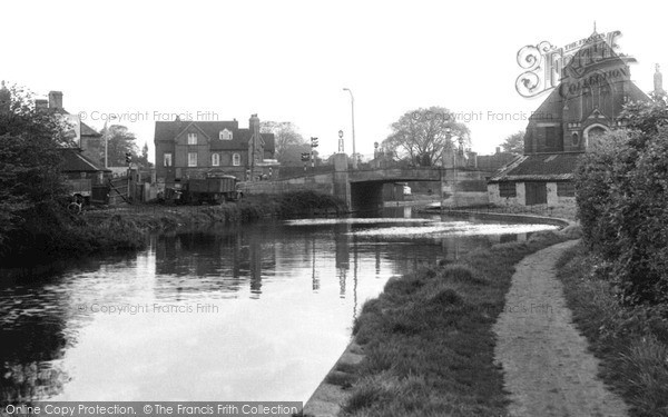 Photo of Sandiacre, The Canal c.1955