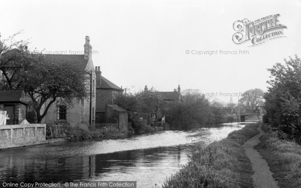 Sandiacre, the Canal c1955