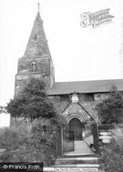 Sandiacre, The Parish Church c.1965