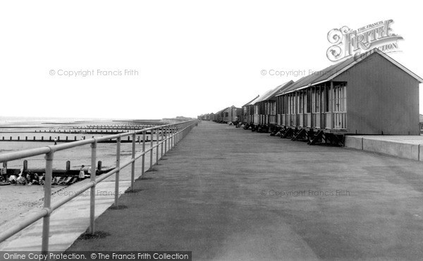 Sandilands, Promenade Looking South c1955