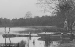 Sandiway, Fishing Platform, Scouts Pool c.1955