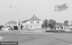 Sandiway, Sandiway Service Station, Toll Bar c.1960