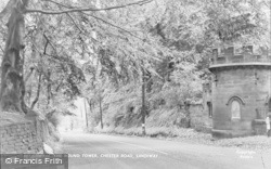 Sandiway, The Round Tower, Chester Road c.1955
