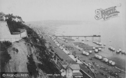 Sandown, From The Cliffs 1893