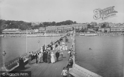 Sandown, From The Pier 1913