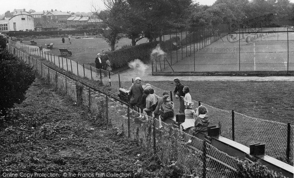 Photo of Sandown, Miniature Railway c1955