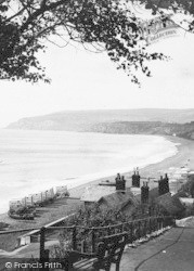 Sandown, The Beach 1890