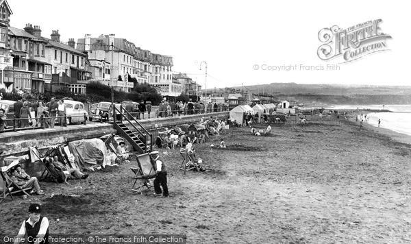 Photo of Sandown, the Beach c1950