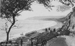 Sandown, The Cliff Path And Dunnose Head 1890