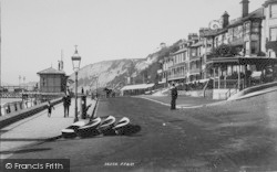 Sandown, The Esplanade 1895