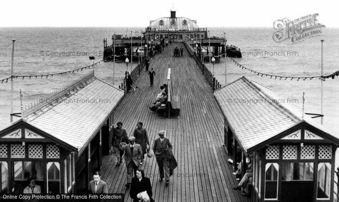 Photo of Sandown, The Pier c.1955