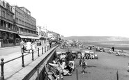 Sandown, the Promenade c1955
