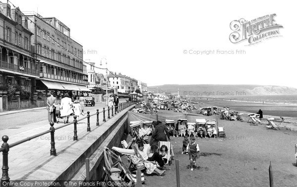 Photo of Sandown, the Promenade c1955