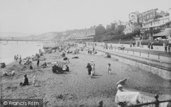 Sandown, The Sands 1913