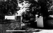 """Sandridge, entrance to """"Lyndon"""" c1960"""