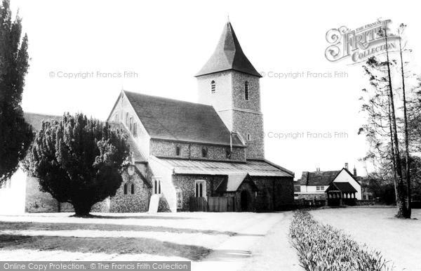 Sandridge, St Leonard's Church c1962