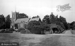 Church Of St Mary Magdalene And Lychgate 1921, Sandringham