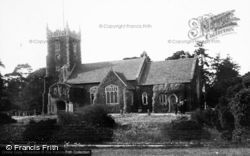Sandringham, Church Of St Mary Magdalene c.1931