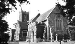 Church Of St Mary Magdalene c.1955, Sandringham