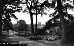Sandringham, Church Of St Mary Magdalene From Royal Walk c.1931