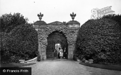 Sandringham, Entrance To Kitchen Gardens c.1930