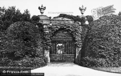 Sandringham, Entrance To The Gardens c.1931