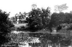 House From The Lake c.1930, Sandringham