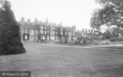 Sandringham, House, West Front 1927
