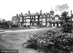 House, West Front 1927, Sandringham